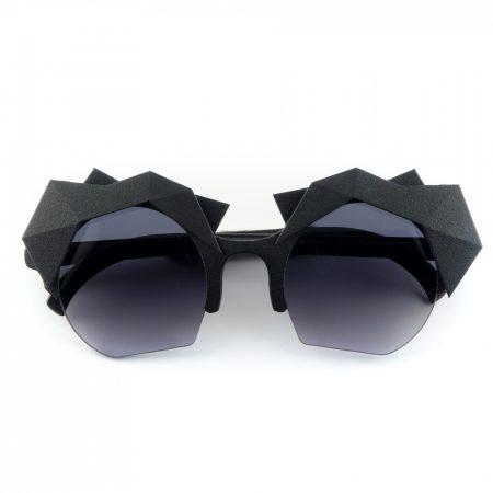 occhiali mina con accessorio ares nero