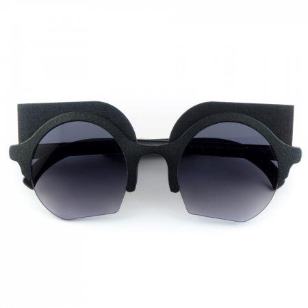 occhiali mina con accessorio depero nero