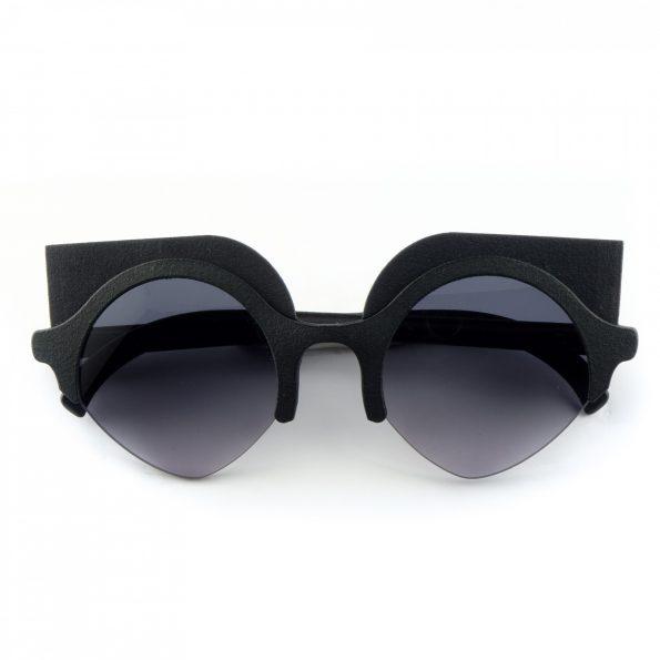 occhiali patty con accessorio depero nero